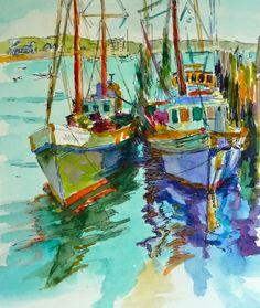 Mary Sheehan Winn watercolor