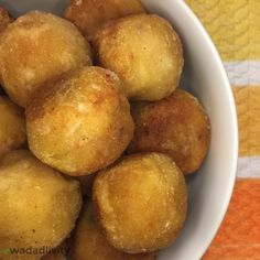 Breadfruit Balls A Caribbean treat made from seasoned and fried breadfruit. This recipe is gluten-free and soy-free. Jamaican Recipes, Spicy Recipes, Raw Food Recipes, Gourmet Recipes, Cooking Recipes, Healthy Recipes, What's Cooking, Guyanese Recipes, Dinner Recipes