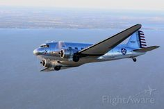 Commemorative Air Force, Douglas C-47B Skytrain (DC-3) (N47HL) at Burnet Muni. (KBMQ) Texas
