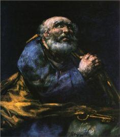 El arrepentimiento de San Pedro - Francisco de Goya