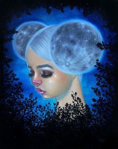 Signed 'Celeste' print is + white border on luster paper. Please allow business days for item to be shipped. Makeup Drawing, Digital Art Girl, Weird Pictures, Pop Surrealism, Black Women Art, Whimsical Art, Fractal Art, Drawing People, Portrait Art