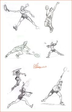 Draw for Drawing: - Badminton