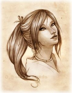 Portrait Commission: Lu'an by SerenaVerdeArt on deviantART