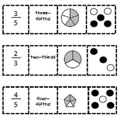 Fraction Game Printable Link--good for math centers
