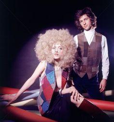 1970s fashion...patchwork for Inez
