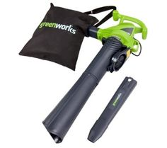 Greenworks 2 Speed 230 MPH Corded Blower/Vacuum 24022 Wood Chipper, Garden Power Tools, Bbq Island, Stainless Steel Bbq, Patio Furniture Covers, Pool Cleaning, Leaf Blower, Lawn And Garden, Outdoor Power Equipment