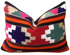 Image of Small Turkish Kilim Pillow