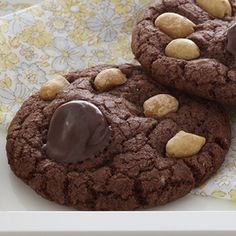 Bear Paws: These whimsical cookies are crunchy, chewy, chocolaty and flat out fun for kids of all ages. A special treat for lunchboxes - and a sure-fire hit for parties. These cookies are baked on ungreased baking sheets to prevent them from spreading too thin. Letting the baked cookies cool for 1 minute on the baking sheets before transferring them to wire racks allows them to set and easily lift from the sheets.