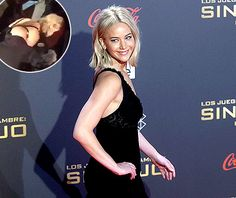 Jennifer Lawrence fell at the Madrid premiere of The Hunger Games: Mockingjay on Nov. 10.