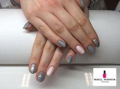 Semilac kolory: diamond ring, stylish grey, biscuit  #nailmaniawarszawa #warszawa #żelazna31 #manicure #manicure #semilac #ilovesemilac #nailswag #nailstagram #nailsnailsnails #nails2inspire #nailsalon #nailsoftheday