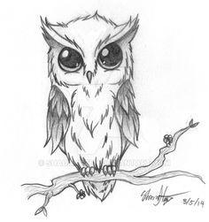 Owl Tattoo RQ by ShadaHazen.deviantart.com on @DeviantArt