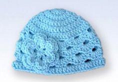 Free Crochet Baby Hat Patterns | Baby Crochet Patterns Free from Crochet Me: 7 Free Crochet