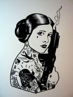 Suicide Leia