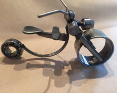 Metal animal sculpture by Steel1Ace on Etsy