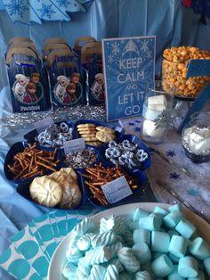 Disney frozen party decoration idead