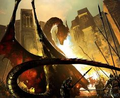 The fall of Astapor... takes place in the year 299AC. Daenerys Targaryen, who has been travelling by ship, arrives at Astapor to buy an army of Unsullied. Sickened by the misery of the slave trade, she acquires from the slave masters all the Unsullied available for sale in Astapor—8,000, with another 600 guarding the city and 5,000 boys still in training—in exchange for her ships, the trading goods onboard, and a dragon, Drogon.