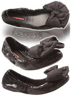 Prada ballerina shoes