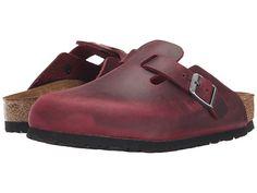 Birkenstock Boston Soft Footbed (Unisex) Zinfandel Oiled Leather - Zappos.com Free Shipping BOTH Ways