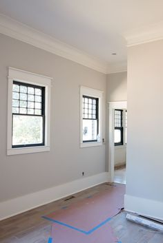 Diy Home Restoration Window Trim Molding An Update On Our Craftsman Home Restoration Details On All Of Our Diy Old Home Renovation Home Renovation, Home Remodeling, Baseboard Trim, Shiplap Trim, Baseboard Ideas, Paint Baseboards, Black Baseboards, Mdf Trim, Baseboard Styles