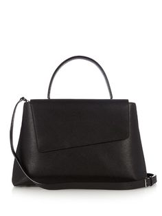 Valextra Twist medium grained-leather bag