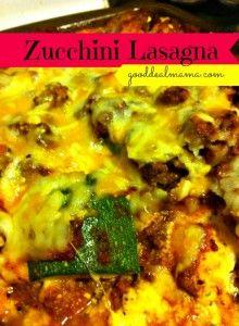 Zucchini Lasagna Perfect Summer Dinner Recipe!!