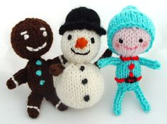 Make Your Holidays: 8 knitted ornament projects @Andrea Harris