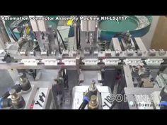Automation connector Assembly pin insertion  Machine Otomasyon konnektör...