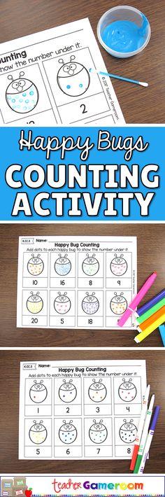 Counting on a Number Line 25 - 48 Worksheet | Kindergarten centers ...
