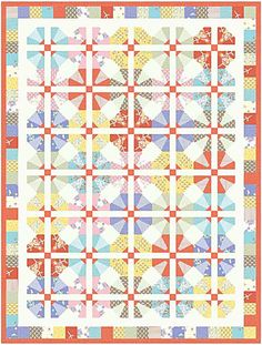 City Weekend Quilt - Free Sewing Pattern @ Oliver + S