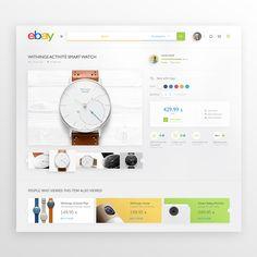 Ebay Redesign on Behance