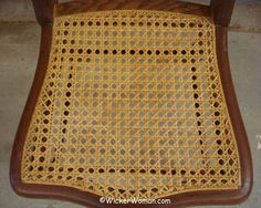 How-to Care for Cane Furniture White Leather Dining Chairs, Blue Velvet Dining Chairs, Leather Chair With Ottoman, Cane Furniture, Furniture Care, How To Clean Furniture, Adirondack Chair Cushions, Wooden Adirondack Chairs, Old Chairs