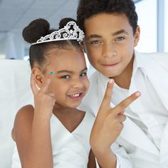Blue Ivy Carter and Jules - Tina Knowles wedding