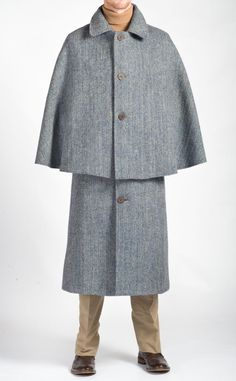 f579e2a260e Harris Tweed Inverness Cape by Harris Tweed Originals A versatile and  stylish alternative to a heavy
