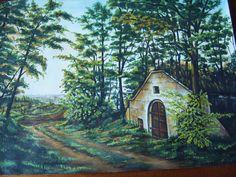 szép borospince - Google keresés Cabin, House Styles, Google, Painting, Home Decor, Decoration Home, Room Decor, Painting Art, Paintings