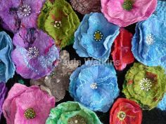 - Fabulous Felt flowers, freckles and flowers blog.