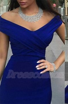 Simple Off Shoulder Long Mermaid Royal Blue Prom Dresses,Prom Gowns,Evening Gowns http://www.luulla.com/product/588930/simple-off-shoulder-long-mermaid-royal-blue-prom-dresses-prom-gowns-evening-gowns