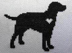 closeup cross stitch