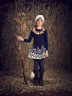 Scotch R'Belle girlswear for fall 2015 with tribal inspiration