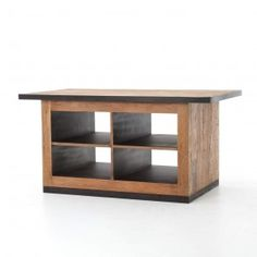 chapman-rustic-loft-wood-iron-open-storage-kitchen-island delivers online tools that help you to stay in control of your personal information and protect your online privacy. Rustic Kitchen Island, Wooden Kitchen, Kitchen Decor, Kitchen Design, Kitchen Ideas, Kitchen Islands, Large Furniture, Cheap Furniture, Rustic Furniture