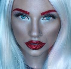glitter eyebrows - Google Search