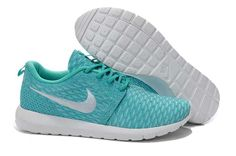 size 40 dab0a 545b2 Best Choice Nike Roshe Run Flyknit Womens Tiffany Blue White Cheap Nike  Roshe, Nike Roshe