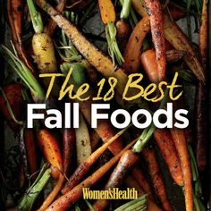 Do you know which fruits and veggies are in season in the autumn? Check out the 18 BEST fall foods: http://www.womenshealthmag.com/nutrition/fall-foods-in-season?cm_mmc=Pinterest-_-WomensHealth-_-content-food-_-fallfoods