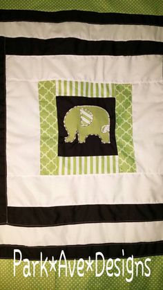 Check out this item in my Etsy shop https://www.etsy.com/listing/248703732/elephant-patchwork-baby-toddler-blanket