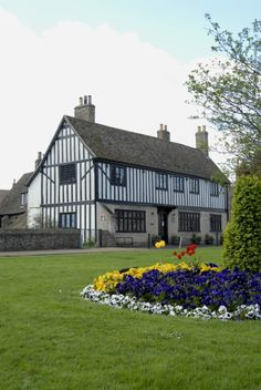 Oliver Cromwell's house in Ely, Cambridgeshire, UK
