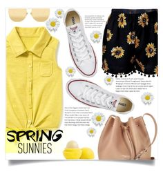 """""""Hello Spring!"""" by keziatmrskasrf ❤ liked on Polyvore featuring Old Navy, Lancaster, Converse and Linda Farrow"""