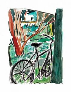 2013 Images - Bicycle 2013 - Howarth Gallery Bob Dylan The Drawn Blank Series