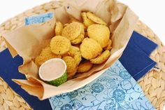 Fried Pickles with Old Bay Batter | 18 New Ways To Use Old Bay
