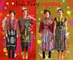 vintage peasant style a la Frida Kahlo. Vintage Clothing at Free People