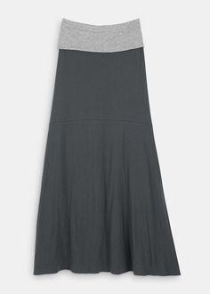 Organic Cotton Reversible Maxi Skirt | Rodale's