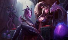 Dragon Sorceress Zyra fan artНовости